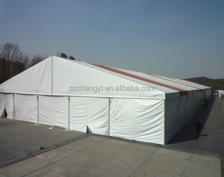 Outdoor Event Storage Tent for Warehouse