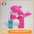 Plastic cartoon cute animal dolphin bubble gun toy with light