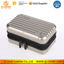 Amazon Hot Selling Travel Hard Makeup Bag Aluminum Cosmetic Case
