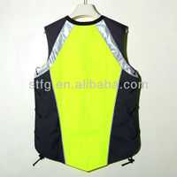 Coloful HI-VI Reflective Safety Vest For Running Or Cycling