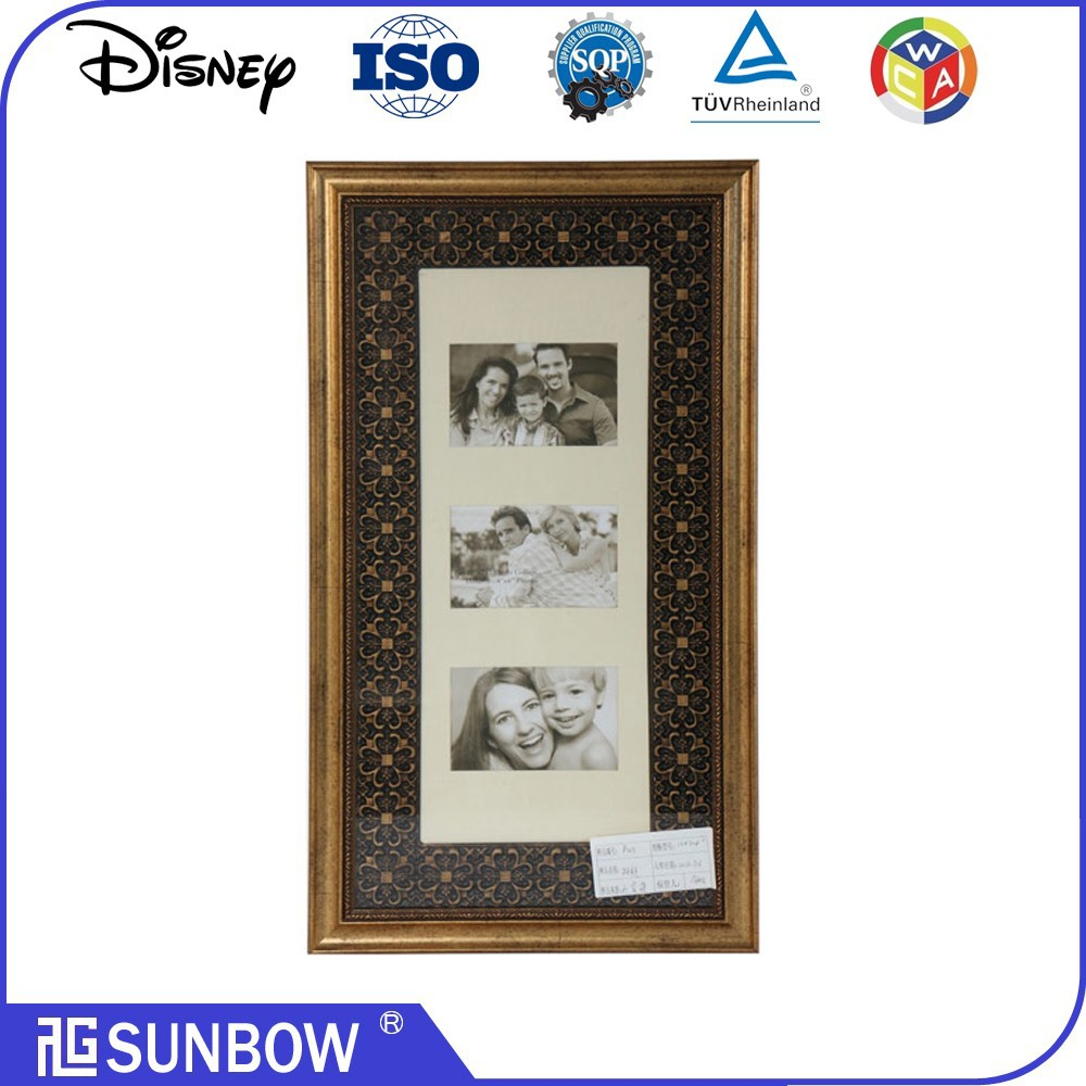Newest design and hot selling large wall hanging photo Frames