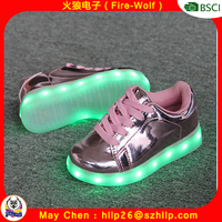 New design pretty smart children shoes fancy kids shoes