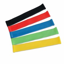 Nantong High Quality Fitness Training Latex Exercise Band Yoga Loop Band