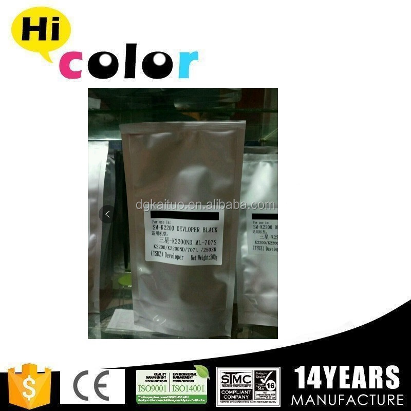developer powder mlt-d707s for Samsung SL-K2200/2200N toner powder