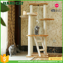 Good Quality Sell Well Wooden Cat Trees