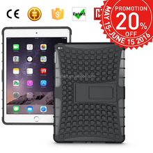 Promotions month, 2 in 1 defender case for ipad 6 cell phone case for ipad air 2