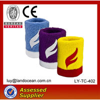 Cotton Terry Toweling Wristbands For Promotion