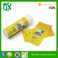 package film wrap shrink label for plastic bottle, shrink sleeve in pieces gravure printing