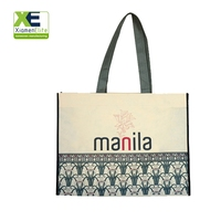 Large Shopper Custom Foldable Reusable Pp Woven Non-woven Store Grocery Bag Wholesale