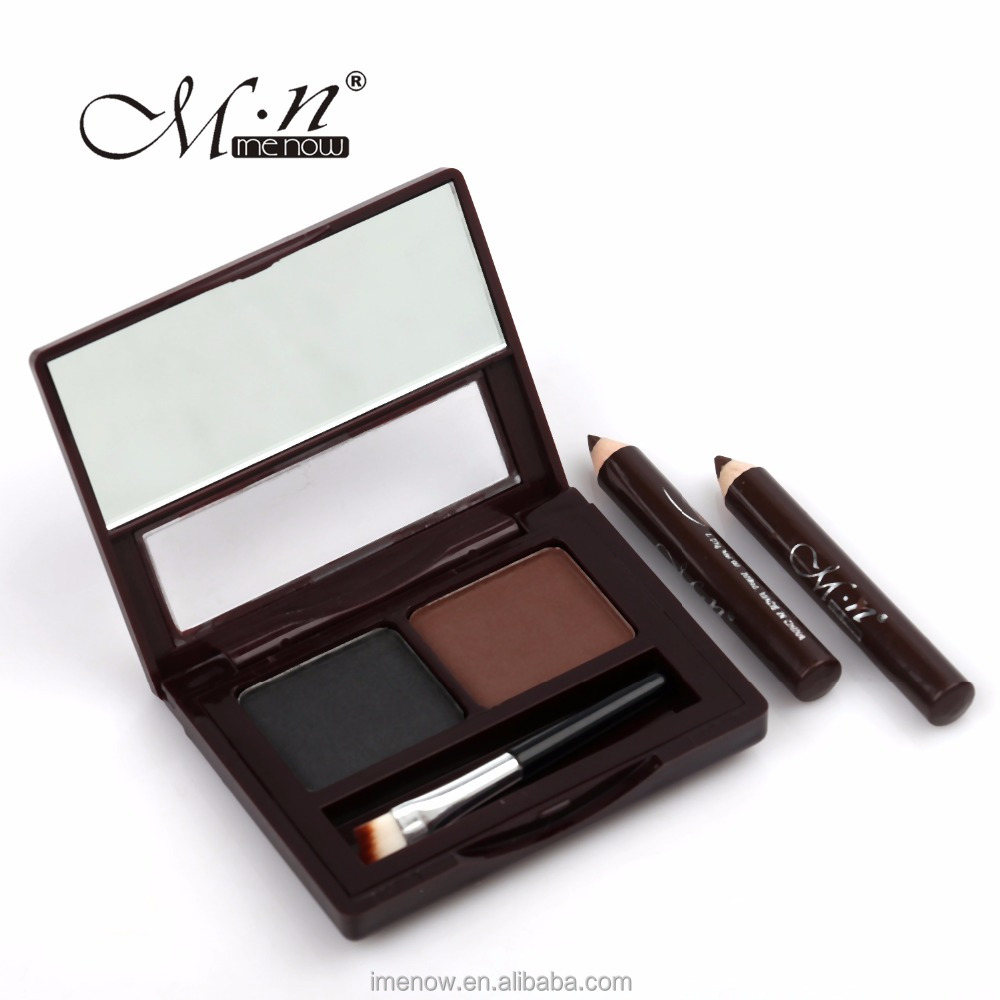 Menow E12002 makeup set Eyebrow Powder with brush and Gift