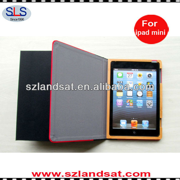 hot sale book smart style case cover for ipad mini IBC23A