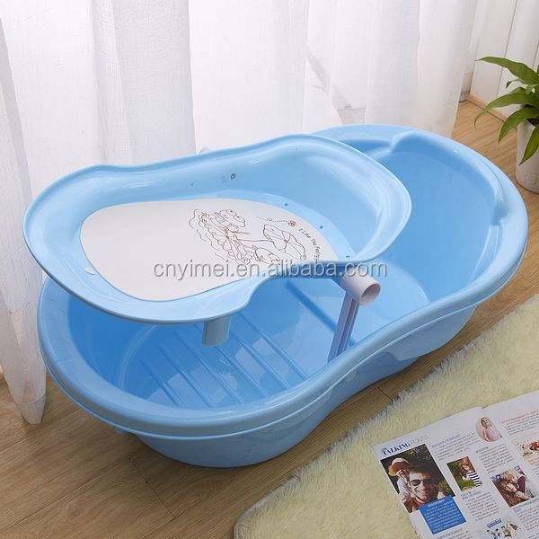 big size with the holder plastic baby bath tub buy baby. Black Bedroom Furniture Sets. Home Design Ideas