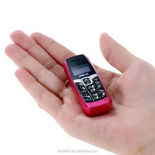 Finger size mini phone 0.66inch voice change phone portable model T3 small phone
