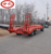 24tons tractor Excavator trailer heavy duty low bed flatbed trailer