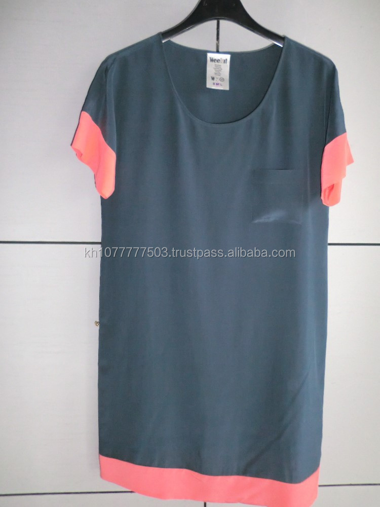 Ladies dress/ OEM service / FOB Cambodia