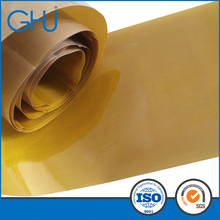 Brown Color Double Glued Glass Fiber Cloth PTFE Coated Tapes In 0.2 Thickness