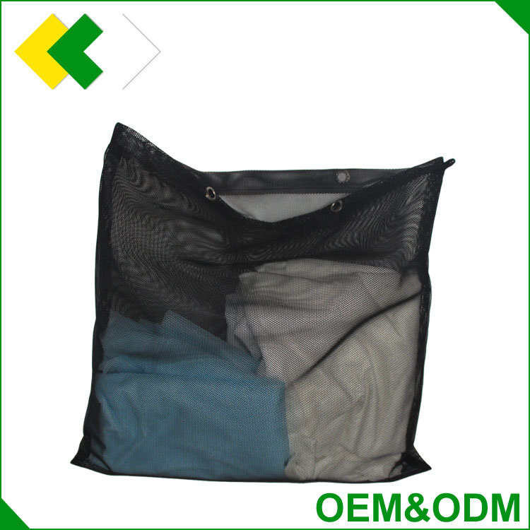 2017 high quality mesh laundry bag customized low price hotsale mesh fruit packaging bags