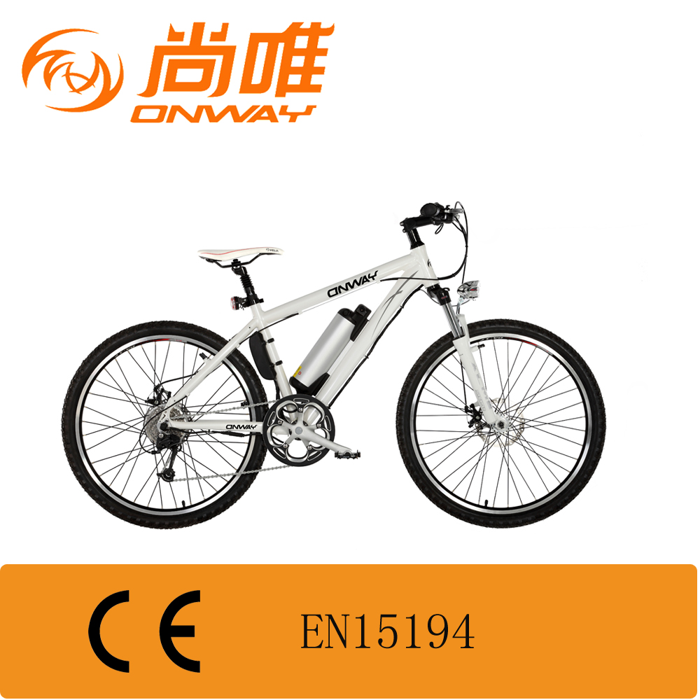 Aluminium Alloy classic electric bike mountain frame front