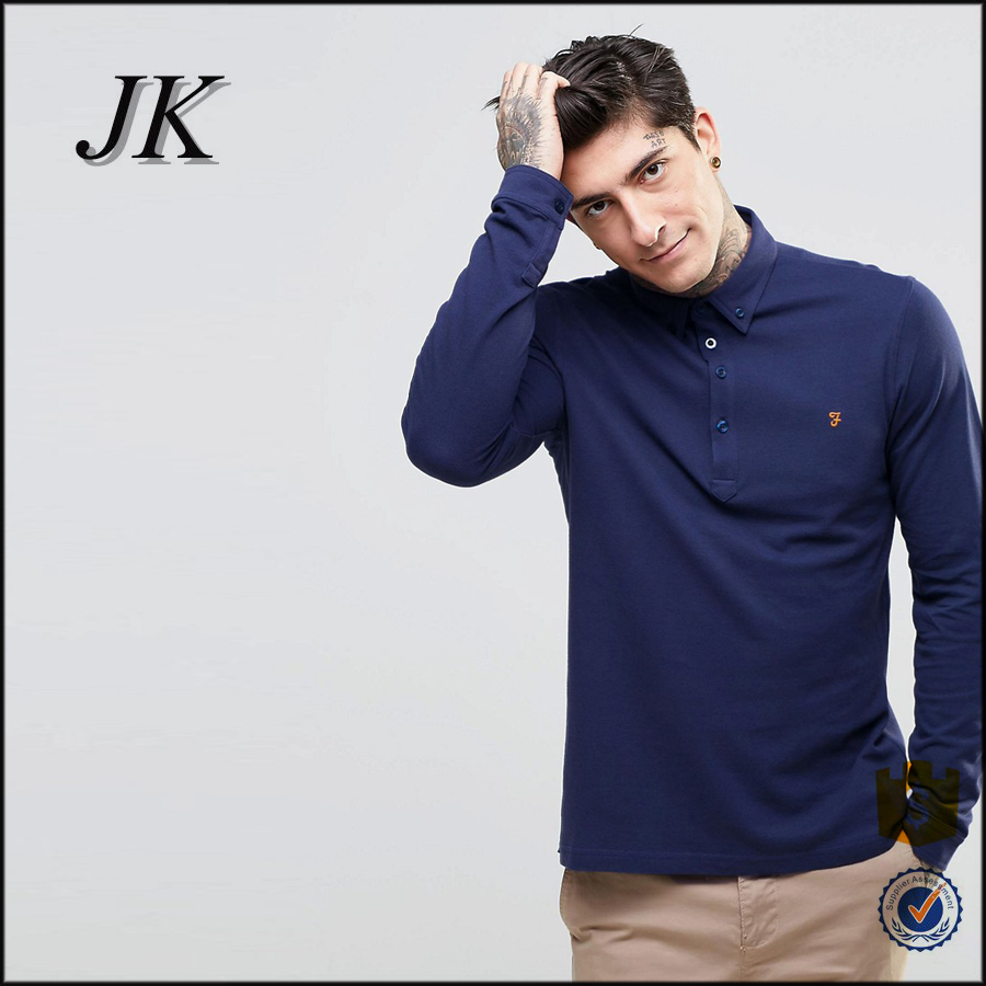 Fashion high quality apperal factory wholesale men clothes plain men's polo t shirt