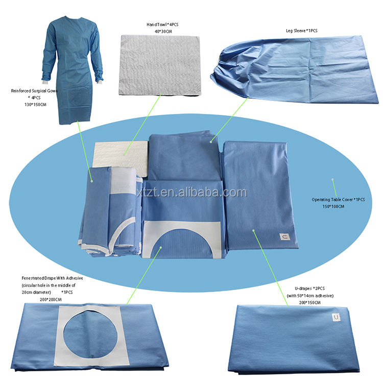 Medical Disposable Surgical Orthopedic Shoulder Pack With EO Sterilized