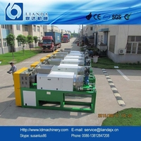 PE film squeezing granulating machine