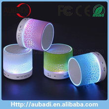 Cheap Remote control bluetooth speaker with led light