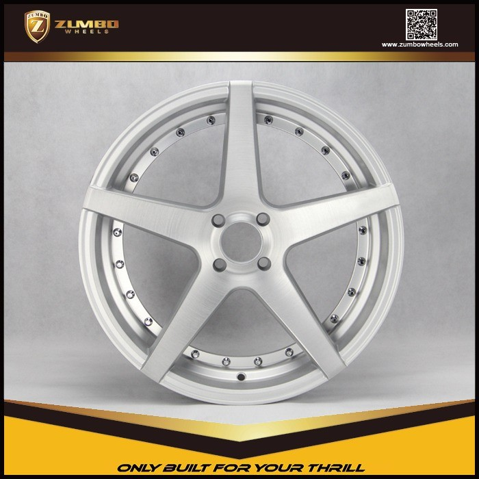 "ZUMBO Z93 Car Wheel For BMW 20 Inch 20"" Replica Aluminum Wheel With Silver Finish"