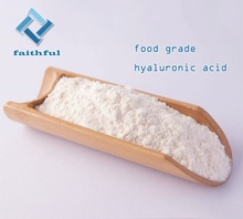 Food Grade Hyaluronic Acid Powder for Skin Care, Pure Sodium Hyaluronate