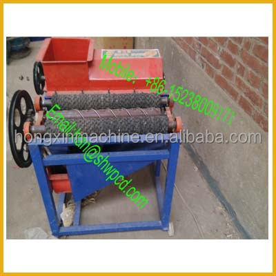 Industrial electric corn husker/ thresher agriculture machine price