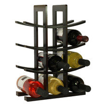12-Bottle Natural Bamboo Wine Rack/Bamboo Wine Bottle Holder With Two Color