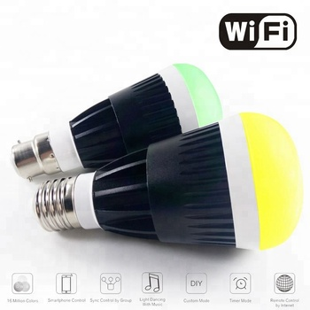 New Hot Product Free APP Smart LED Wi-Fi lighting bulbs