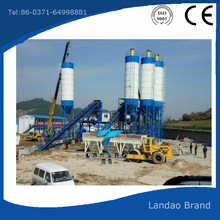 Reliable supplier of HZS90 belt type concrete mixing plant
