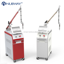 Beauty machine 532nm 1064nm q switched nd yag laser tattoo removal equipment