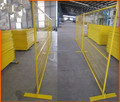 6ftx9.5ft Canada rent portable temporary fence panel/construction site fence