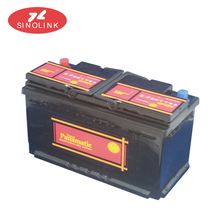 jiangmen lead-acid battery 12V 55AH 10PLATES starting maintenance free car battery for locomotive. MFDIN55TH