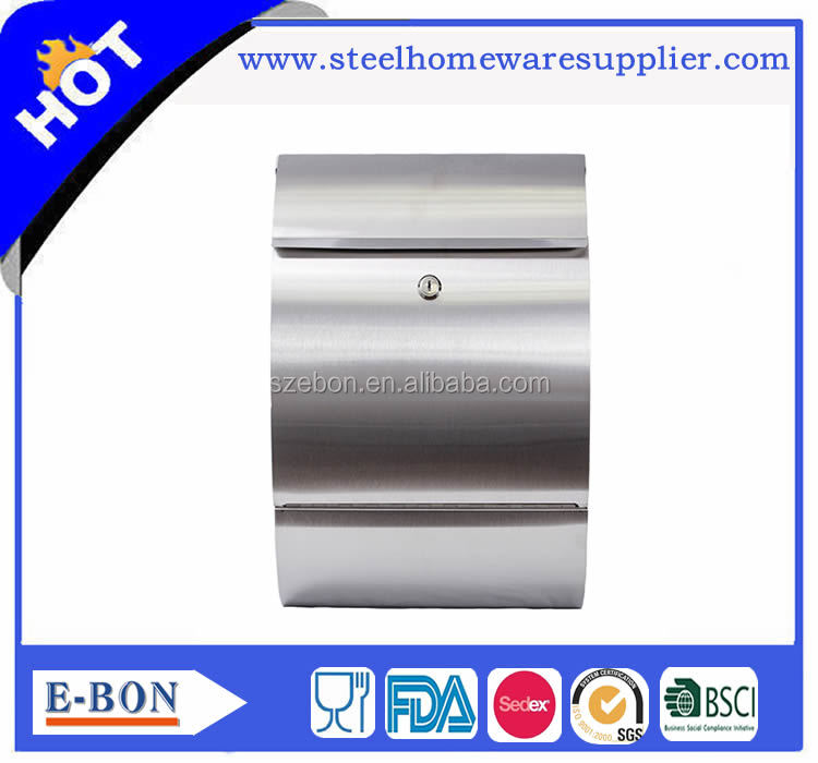 Top sale this year stainless steel mail box and letter box in stock