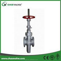 Through conduit lever gate valve with pneumatic actuator