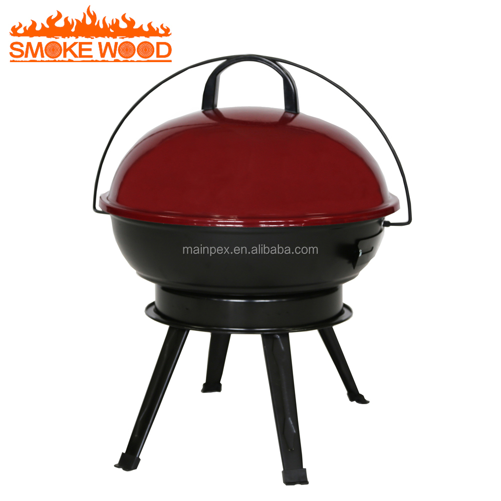 Outdoor Kitchen Patio Classic Charcoal Grill BBQ Ggrill Table With Portable Raclette Grill