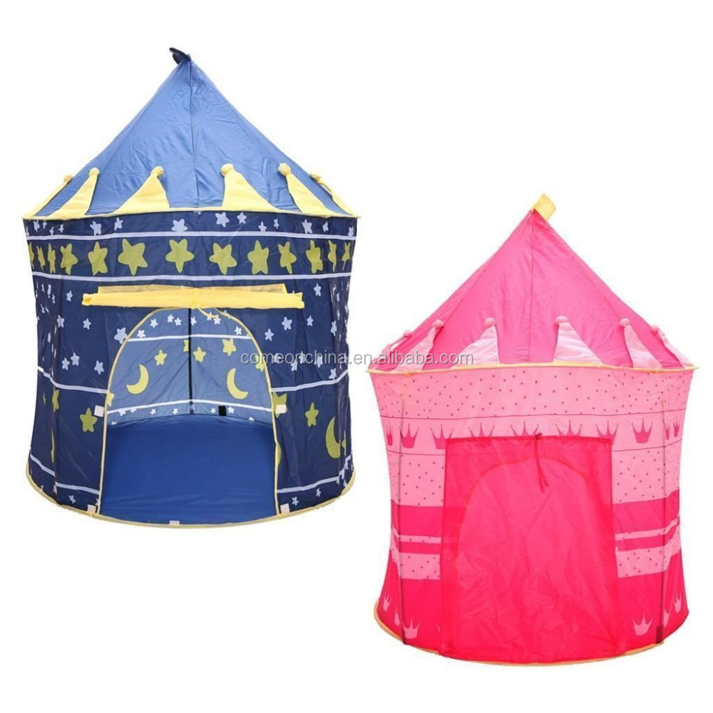 Portable folding tunnel tent baby boy girl play games room tent