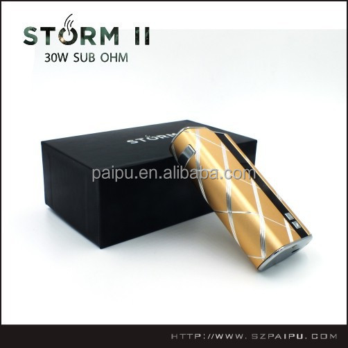 Factory Price Best Selling Wholesale max vapor electronic cigarette& Paipu Storm mod