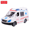Zhorya large remote control plastic ambulance car toy with light