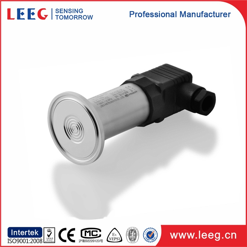 pressure vessel clamp type sanitary pressure transmitter