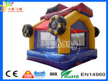 CRAZY!! inflatable car moonwalk, inflatable car bouncer,race car inflatable for toddler