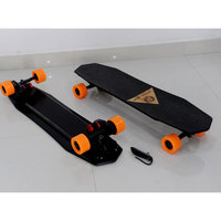 MK electric skateboard1800W with double motor ,wireless remote control.custom electric longboard skateboard