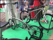 wholesale waltly titanium road bike frame used for medical