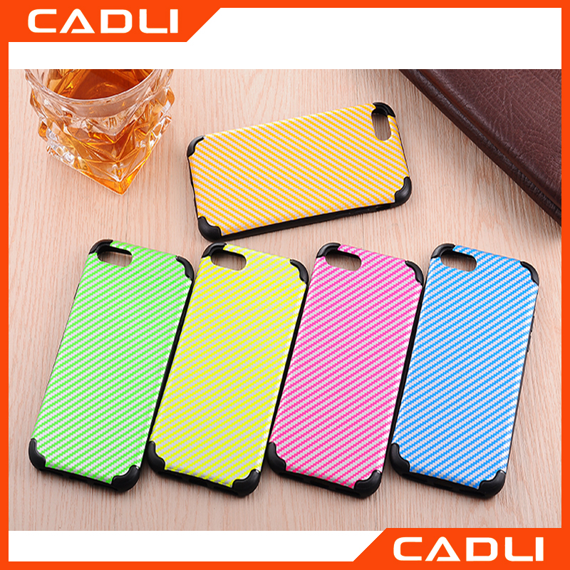Fashion Cover For iPhone 7 7 Plus IMD Silicone TPU Straw mat pattern Shock-proof Cellphone case