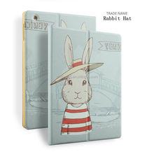 new business 2 in 1 folio case color printing stand pu leather case for ipad 2 3 4 with custom design