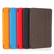 Big Sales Unique PU Leather Smart Magnetic Protective Case Skin Foldable Cover Stand for Apple iPad Mini Durable