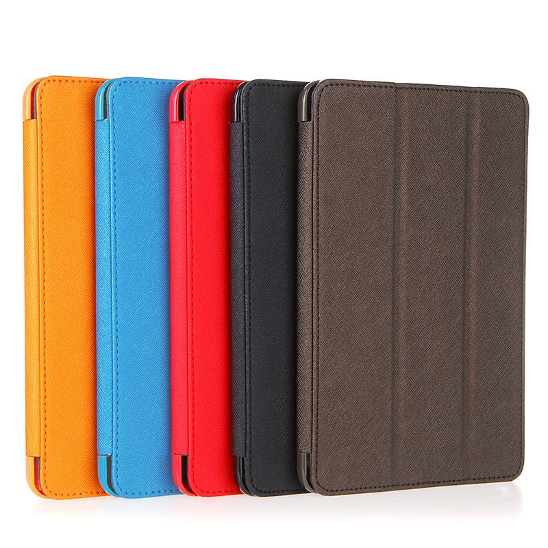 new Big Sales Unique PU Leather Smart Magnetic Protective Case Skin Foldable Cover Stand for Apple iPad Mini Durable