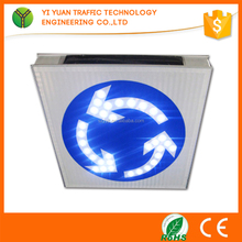 IP68 High Flashing Reflective Led Solar Powered Traffic Sign